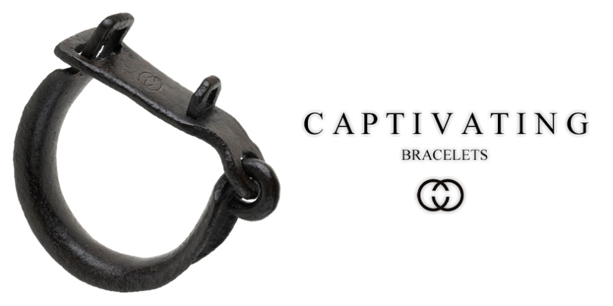 Parody of slave shackle with reference to contemporary Hip-Hop jewelry by What Went Wrong With