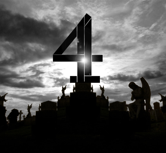 Graveyard with Channel 4 logo by What Went Wrong With
