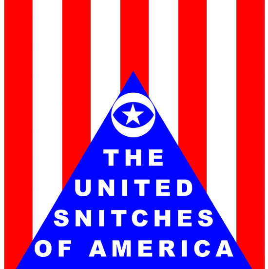 Parody of the American flag shown as a Pyramid by What Went Wrong With