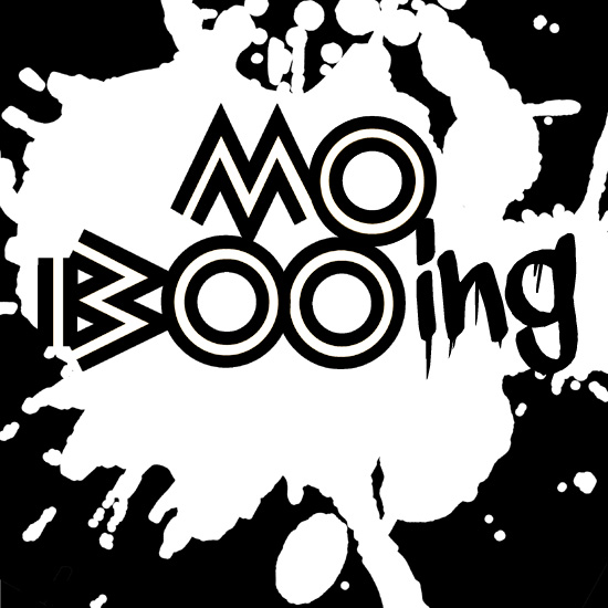 A parody of the MOBO Awards Logo to spell - Mo Booing - by What Went Wrong With