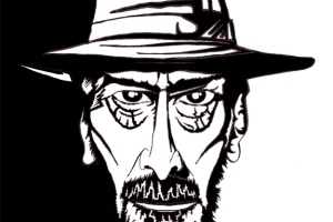 A caricature of Frank Miller by What Went Wrong Or Right With...?