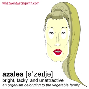 A caricature of Iggy Azalea by What Went Wrong Or Right With...?
