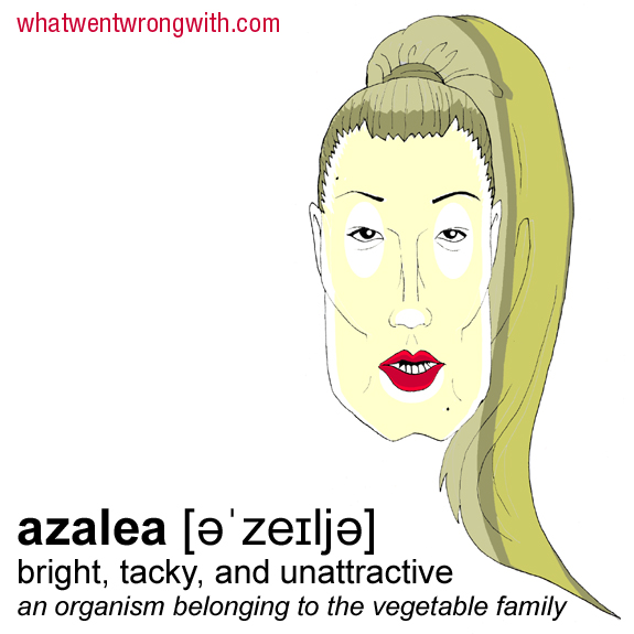 Caricature of Iggy Azalea by What Went Wrong With