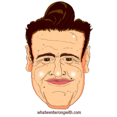 A caricature of Jason Segel by What Went Wrong Or Right With...?