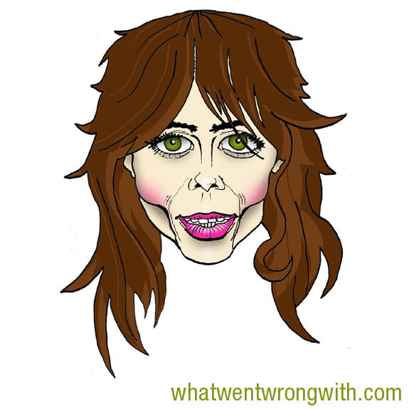 Caricature of Natasha Leggero by What Went Wrong With