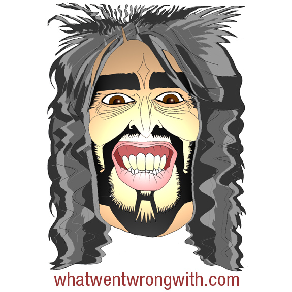 Caricature Of Russell Brand by What Went Wrong Or Right With...?