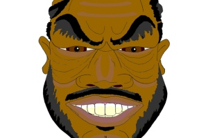 A caricature of Xzibit by What Went Wrong Or Right With...?
