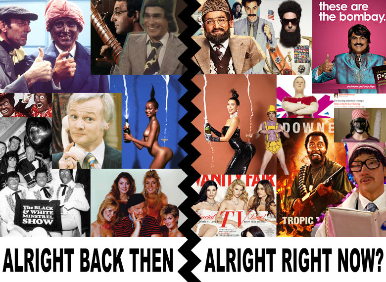 What Went Wrong With... Channel 4's It Was Alright In The 1970s - A collage of prejudice in entertainment in the 70's and the present day