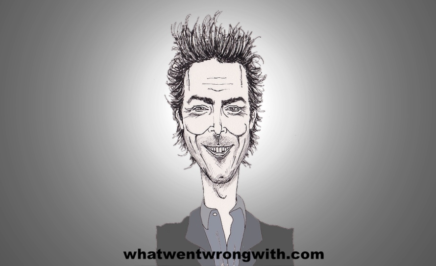 A caricature of Director and Producer Shawn Levy by whatwentwrongwith.com
