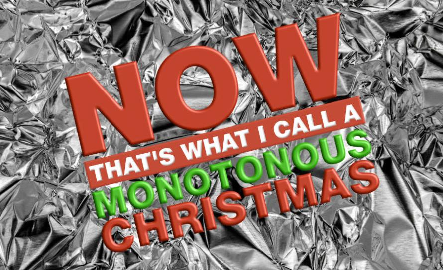 What Went Wrong With... The Christmas Pop Song and the UK Chart Christmas Number 1? A parody of the Now That's What I Call Christmas album cover by whatwentwrongwith.com