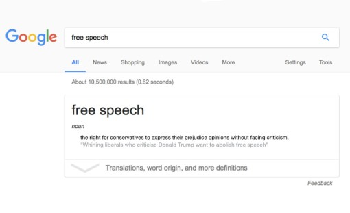 Confusing The Right To Be Offended With Censorship