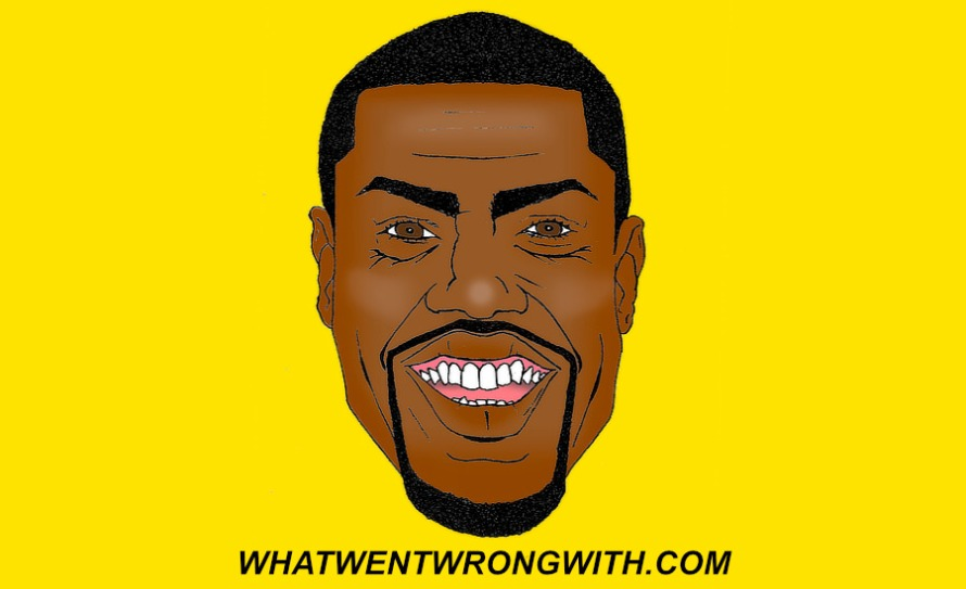 A caricature of Kevin Hart by What Went Wrong Or Right With...? for whatwentwrongwith.com
