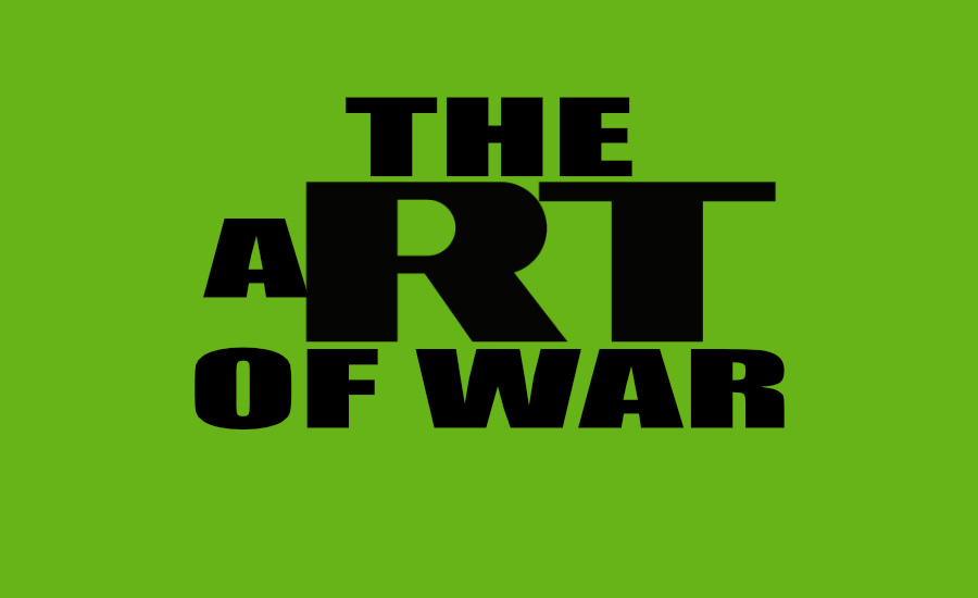 "The RT Russia Today logo with the text ""The Art Of War"" by What Went Wrong Or Right With...? for whatwentwrongwith.com"