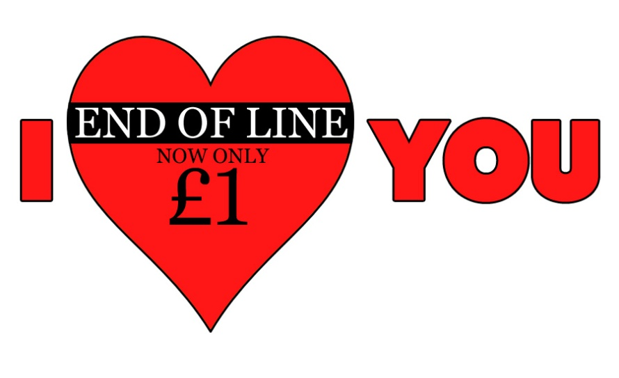An image of a cheap heart to represent Valentine's Day. By What Went Wrong Or Right With...? for whatwentwrongwith.com