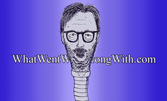 A caricature of Eric Clapton as a worm by What Went Wrong Or Right With...?