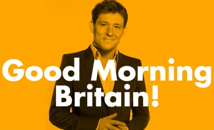 "An image of Ben Shephard with the text ""Good Morning Britain"" by What Went Wrong Or Right With...?"