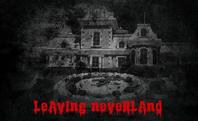 A scary photo of the Neverland Ranch