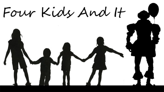 Parody poster for Four Kids And It