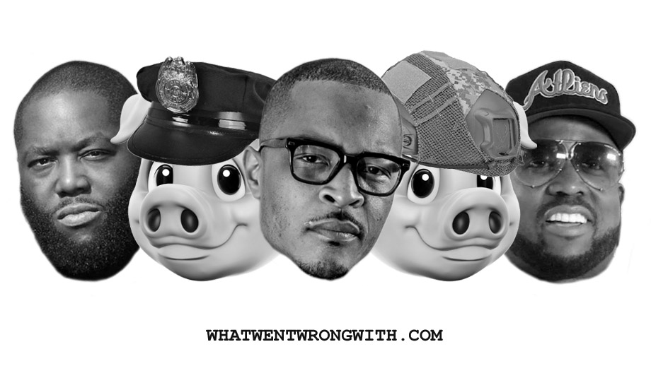 Killer Mike, T.I., Big Boi, and pigs