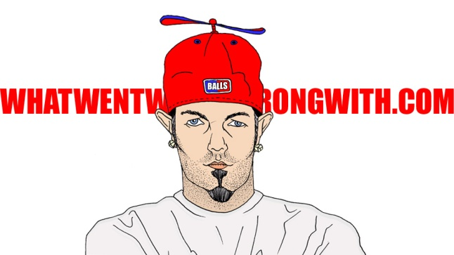 A caricature of Fred Durst by What Went Wrong Or Right With...?