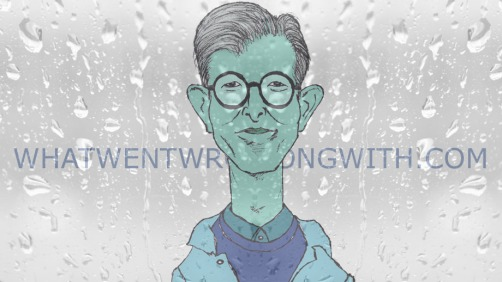A caricature of Gareth Malone by What Went Wrong Or Right With...?