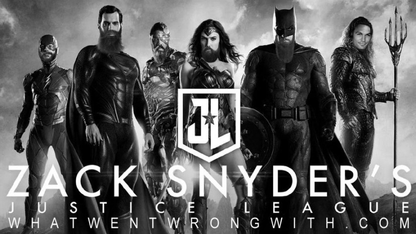The Justice League with beards
