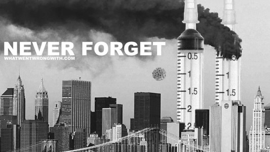 A parody of September 11th attacks for the covid pandemic