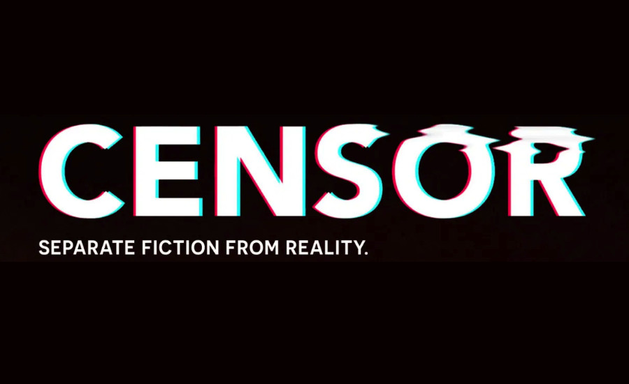 Censor poster glitch logo