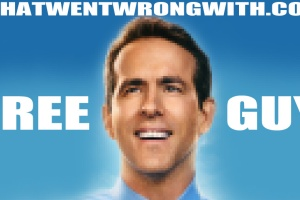 The character Guy from Free Guy shown pixelated